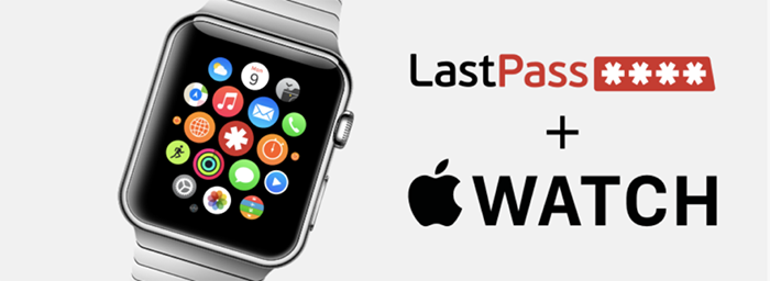 LastPass and Apple Watch